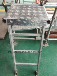 Aluminium Scaffold Step Platform with Smart Design pictures & photos