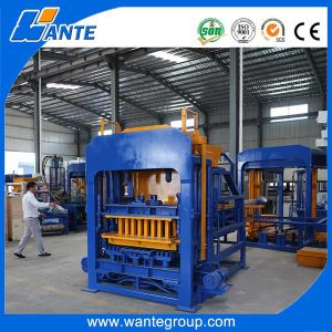 Qt8-15 Automatic Brick Machine, Hydraulic Cement Block Production Line pictures & photos