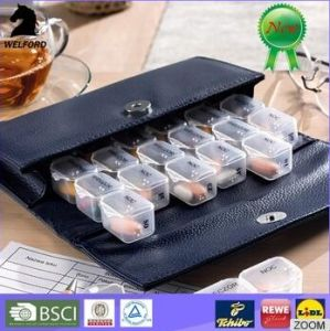 Hot Selling Pill Box with PU Bag pictures & photos
