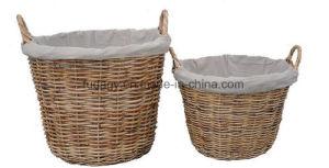 Natural Handmade Garden Basket for Outdoor