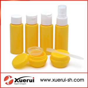 Plastic Cosmetic Travel Bottle Sets for Travel Use pictures & photos