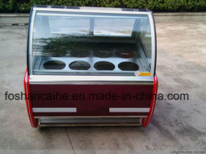 Italian Ice Cream Gelato Popsicle Display Freezers (CE approved) pictures & photos
