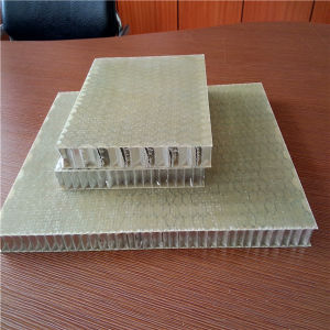 20mm Fiberglass Honeycomb Panels for Stone Composite Panels pictures & photos