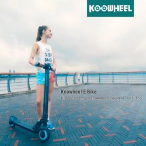 Koowheel 8inch Foldable Electric Scooter Lightest E-Scooter with Lithium Battery pictures & photos
