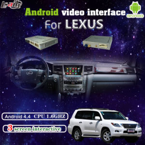 Car Android Interface Navigation with Rear Camera Reversing for Lexus pictures & photos