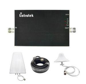 Lintratek® GSM Booster 900 1800 Amplifier Booster GSM 900 Dcs 1800 MHz Lintratek Dual Band Signal Booster Full Kits pictures & photos