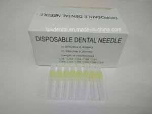 High Quality 25g, 27g, 30g Disposable Dental Needles for Dental Irrigation pictures & photos