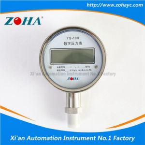 High Precision Digital Pressure Gauge (YS100) pictures & photos