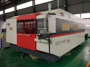 Third Generation 1000W Raycus Fiber Laser Cutting Machine with Double Table pictures & photos