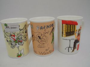 Sample Type Big Milk Cup Porcelain Mugs in Cheap Price pictures & photos