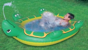 Inflatatble Water Spray Pool pictures & photos
