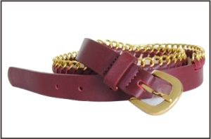 Genuine Leather Chain Fashion Belt pictures & photos
