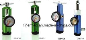 Click Style Aluminum Medical Oxygen Regulators pictures & photos