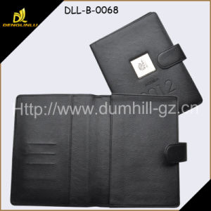 2015 New A5 Size PU Leather Folder pictures & photos