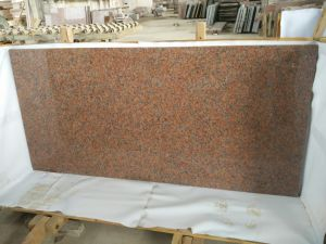 Maple Red Granite Kitchen Island Tops Granite Countertops pictures & photos