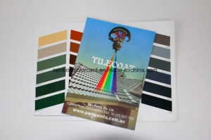 Printing Service of Folded Architecture Roof Paint Catalog pictures & photos