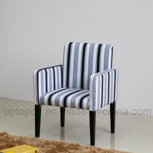 Leisure Fabric Upholstery Armchair with Stripe Line for Living Room (SP-HC468) pictures & photos