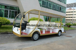 Rariro 14 Seater Hotel Park Electric Sightseeing Vehicle with Ce Certification pictures & photos