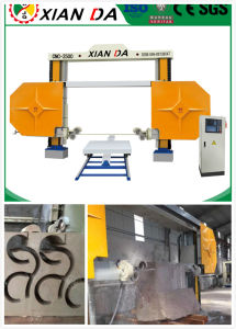 Overseas Service After Sales Stone Machine /Marble& Granite CNC Diamond Wire Saw Cutting Machine pictures & photos