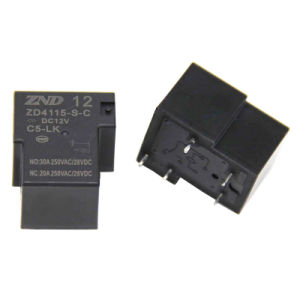 Zd4115 (T90) 5pins Miniature Electromagmetic Sensitive Power Relay for Industries pictures & photos