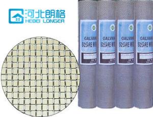 Galvanized Square Iron Wire Mesh pictures & photos