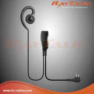 Two Way Radio Swivel Earpiece for Motorola Cp040/Cp140/Cp200 pictures & photos