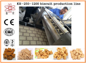 Kh-600 Automatic Small Biscuit Machine/ Biscuit Making Machine Manufacturer pictures & photos