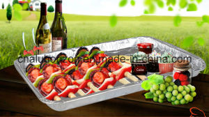 Hot Sale Household Aluminum Foil Tray for Roasting pictures & photos