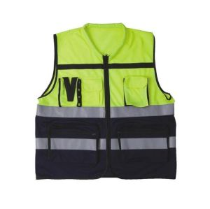 High Visibility Warning Vest with Pockets pictures & photos