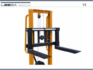 Manual Winch Stacker pictures & photos