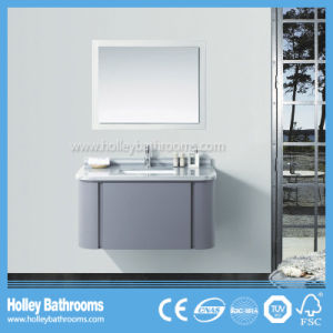 Modern MDF Hot Selling Wall Mounted Bathroom Cabinet with 1 Drawer (BF375D) pictures & photos