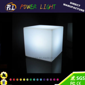 Lighted Furniture Rechargeable Colorful LED Mini Cube pictures & photos