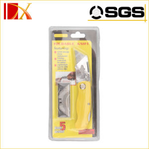 19mm Carbon Steel Replaceable Blade Folding Cutter Utility Knife