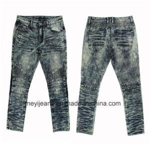 Fashion Design Men′s Straight Denim (MYX01) pictures & photos