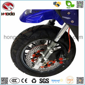 1000W 2 Seats Scooter Hydraulic Full Suspension Electric Motorcycle with LCD Display pictures & photos