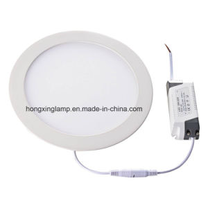 Dimmable SMD2835 Slim LED Panel 7W 12W 18W Round Ceiling Lamp with Ce Bis pictures & photos