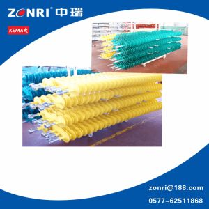 High Volatage Composite Suspension Insulator by Green and Yellow Color pictures & photos