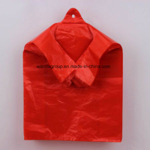 Leak Proof HDPE Recycled Plastic T-Shirt Bag pictures & photos
