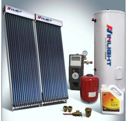 Pump Circulation Split Type Solar Hot Water System pictures & photos