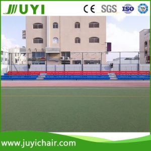 Telescopic Movable Retractable Grandstand Bleacher Plastic Seating System Plastic Grandstand Jy-750 pictures & photos