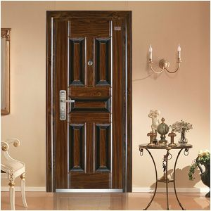 Popular Design Top Quality Household Security Steel Door pictures & photos