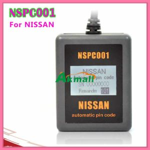 Automatic Pin Code Reader Key Programmer for Nissan Hand-Held Nspc001 pictures & photos