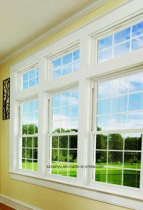 Aluminum Alloy Single Hung Window/Aluminium Windows China Supplier pictures & photos