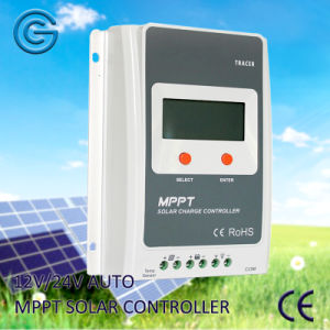 MPPT 12V/24V 10-40A Solar Panel System Battery Charge Regulator/Controller pictures & photos