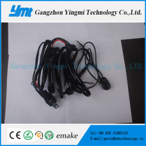 Automotive Electrical Cable Harness LED 300W Light Bar Wiring Harness pictures & photos