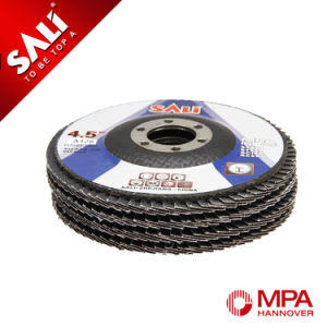 Free Sample Calcined Alumina Oxide Coated Abrasive Flap Disc pictures & photos