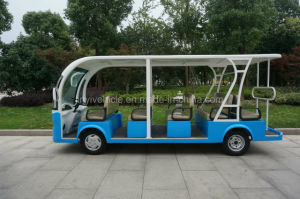 72V 5500W Battery Power Electric Passenger Tourist Car for Sightseeing with Ce Approval in Changzhou pictures & photos