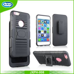 Hot Selling Holster Combo Case with 180 Degree Rotating Belt Clip for iPhone 6plus pictures & photos