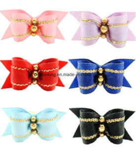 Adorable Cute Pet Bows, Fashion Dog Hair Clip Bow pictures & photos