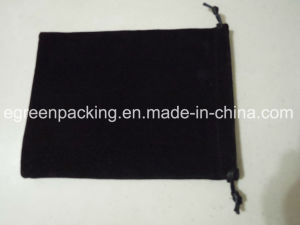 Black Double Side Velvet Jewelry Bag / Promotion Gift Bag pictures & photos